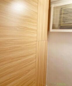 電視櫃用作間牆櫃, 可以節省空間