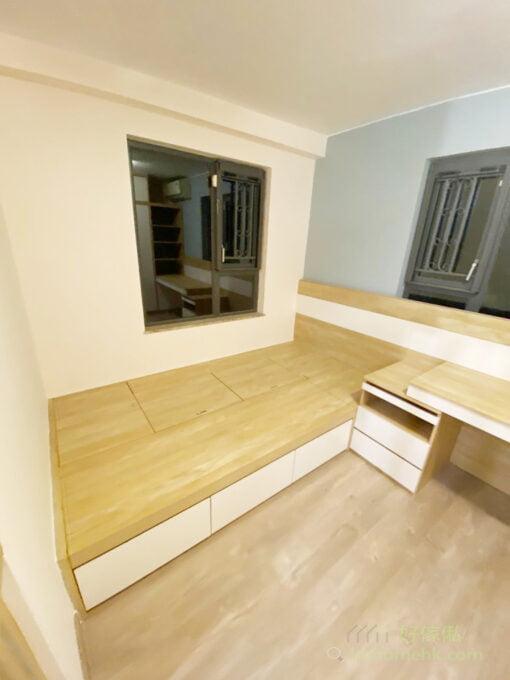 半開放式睡房