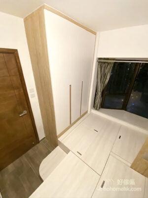 一間可以滿足孩子三個願望的睡房:上下床連地台及衣櫃
