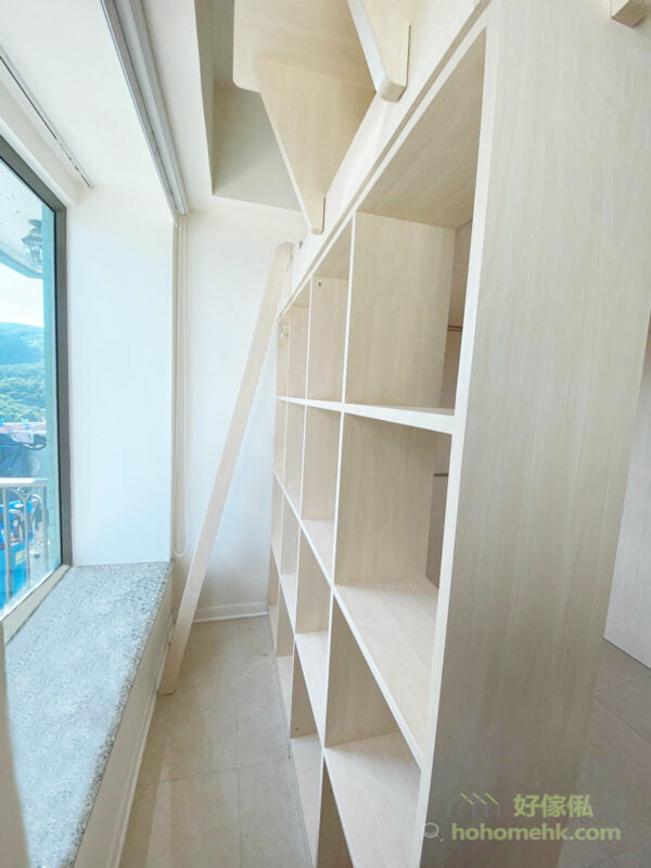客廳閣樓, 善用空間打造出雙層生活空間