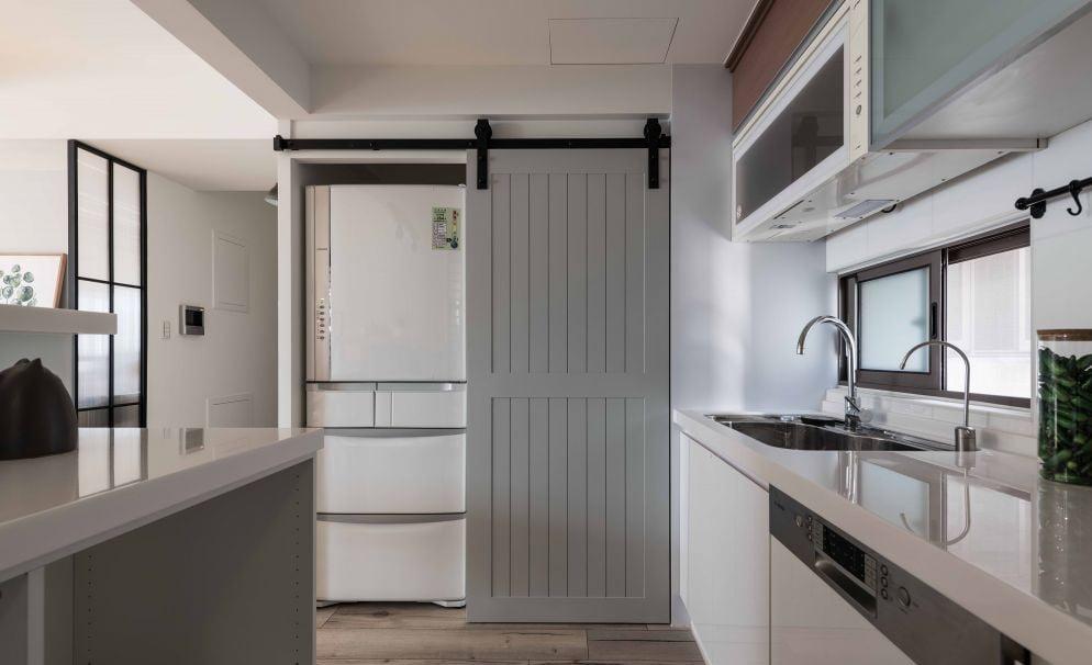 穀倉門簡潔多變的設計,質樸又有型,輕鬆駕馭復古、時尚、粗獷、小清新、文青風等裝修風格,是近年備受追捧的房門設計。
