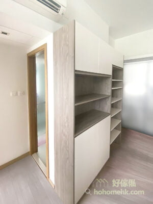 同系列傢俬延伸至客廳, 統一整個家的風格