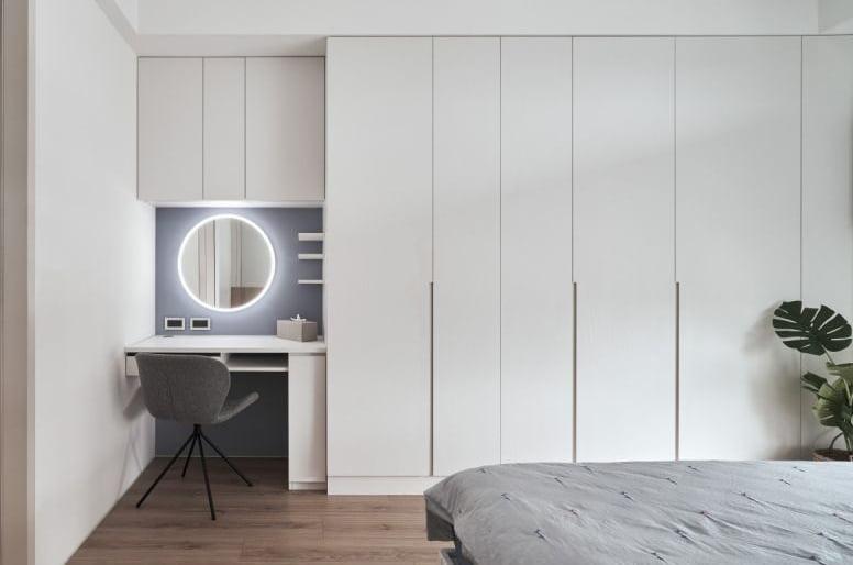 梳妝枱結合衣櫃設計