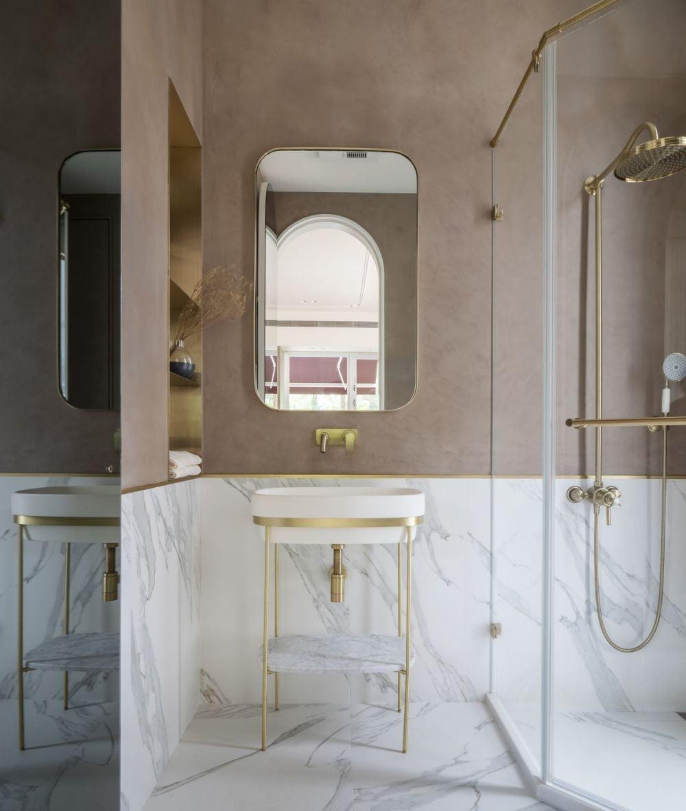 女生最愛的北歐輕奢風浴室