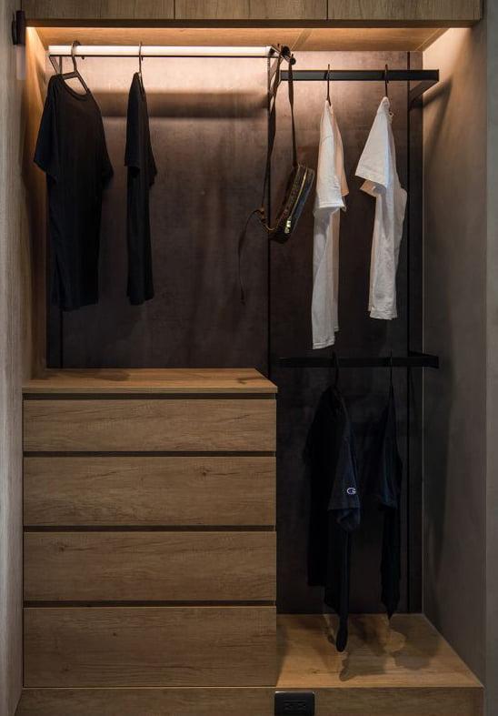 衣櫃內的自動感應燈