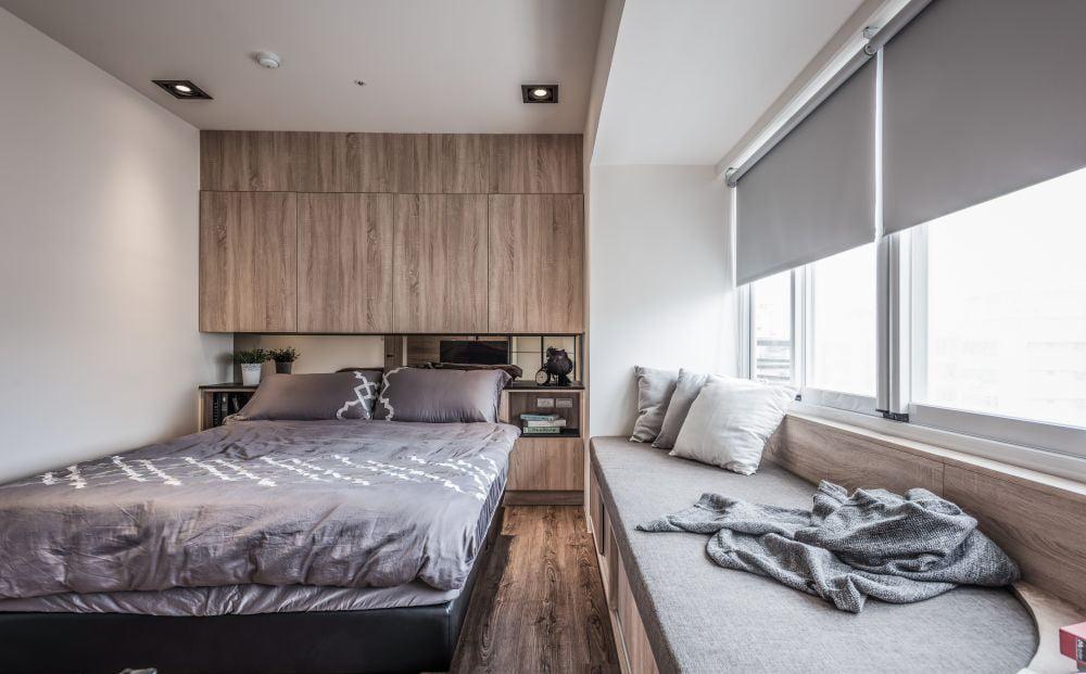 別把睡房裡的窗台遺忘, 窗台可以提供多一個休閒空間
