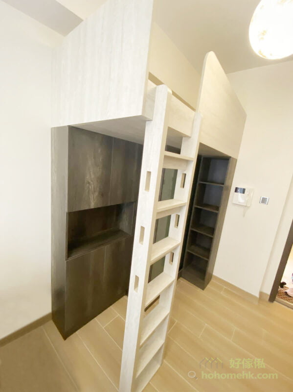 客廳閣樓連衣櫃/鞋櫃及玄關櫃