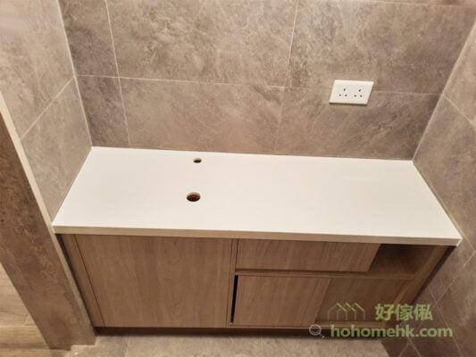 廁所的浴室櫃/洗手台設計