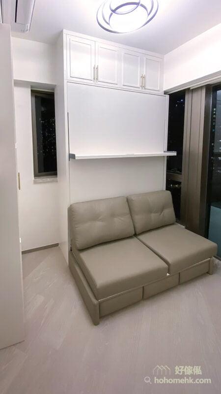 電動變形直翻床/沙發床