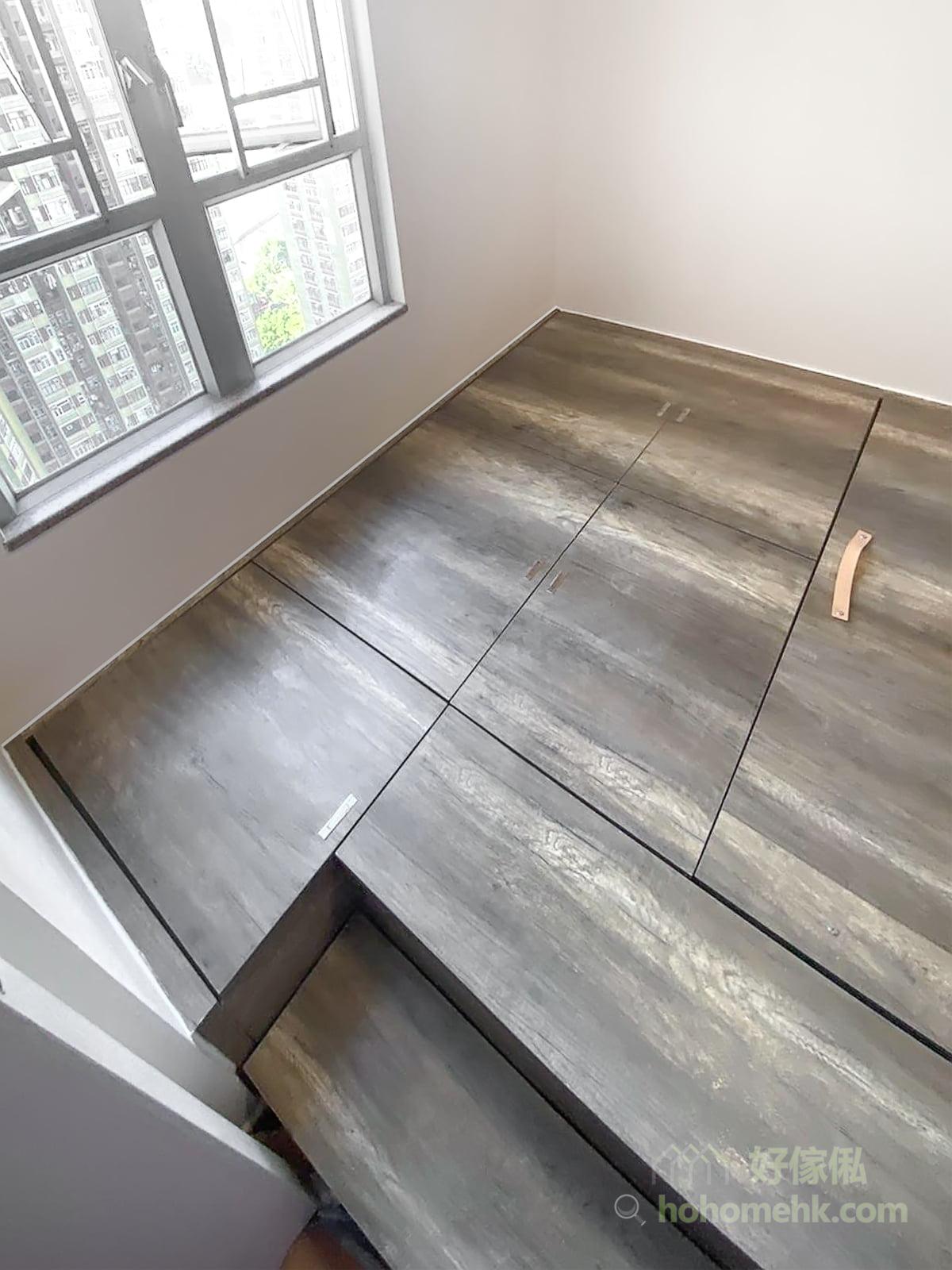 深色木材有著一份說不出的醇厚、安定、高貴氣質,與淺色木質相比,在清潔和保養維護上都更加方便