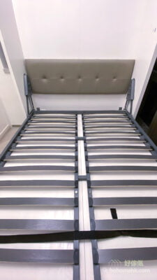 電動變形直翻床/沙發床, 加寬加密的龍骨更穩固可靠