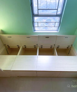 垂直式收納充分運用高度空間