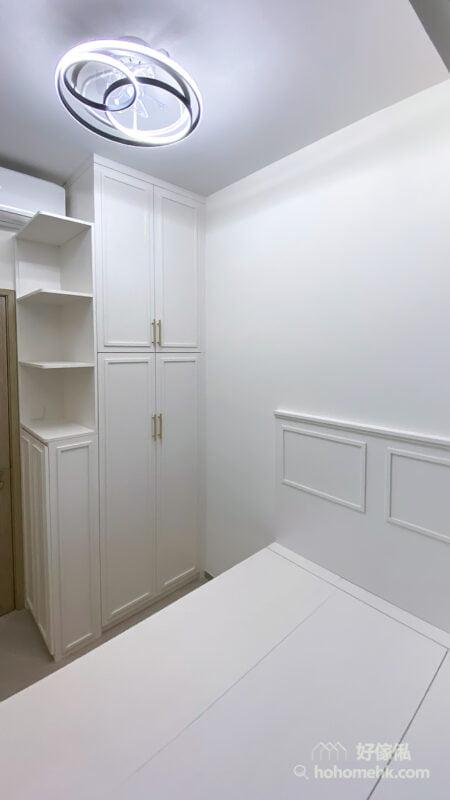 極簡主義風格睡房設計