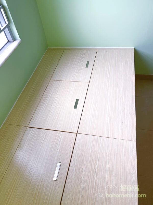 小房間可以利用油漆,取代其他裝飾品,配上不同顏色但和諧的傢俬,讓空間更有重心和層次,是非常適合小房間的改造方法