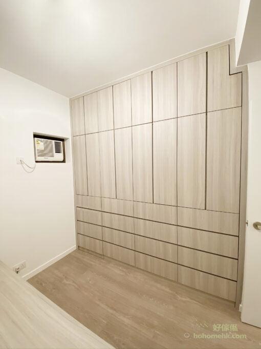 睡房窗台床連衣櫃及床尾櫃