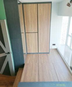 地台選用無抽手設計,表面不會有任何拉手,不易積塵,也令地台外觀風格更統一,最適合完美主義的客人選用