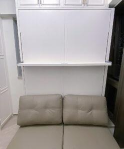 電動變形直翻床/沙發床, 自由定制儲物空間, 配合不同需要