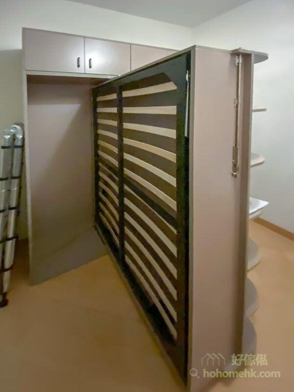 變形書架床
