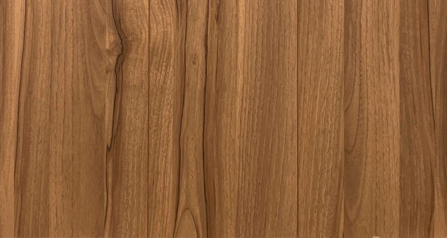 胡桃木是北歐復古風常用的木紋,也有用於日式懷舊風格,展現成熟穩重的感覺
