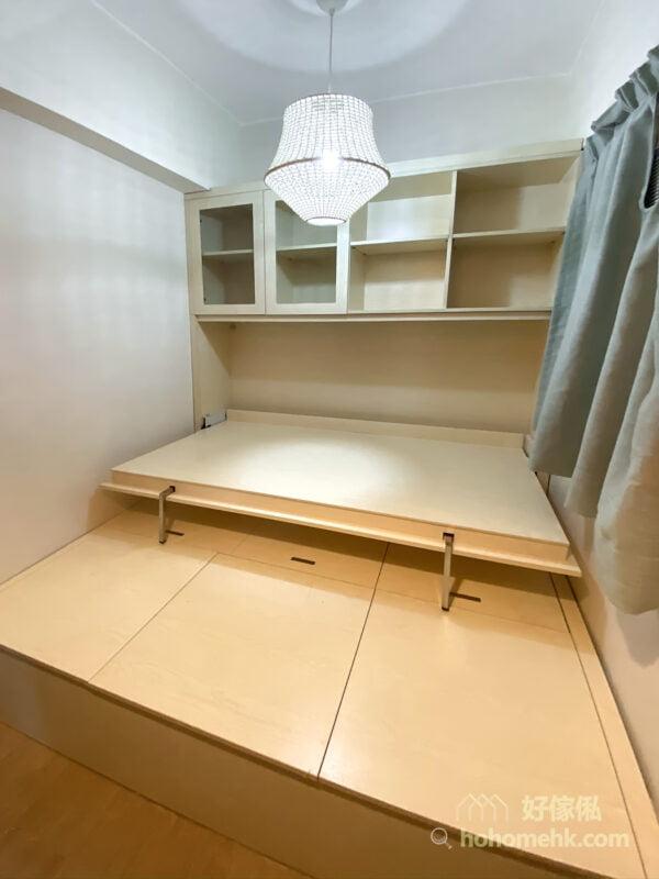 地台設計連變形側翻床及電動升降枱