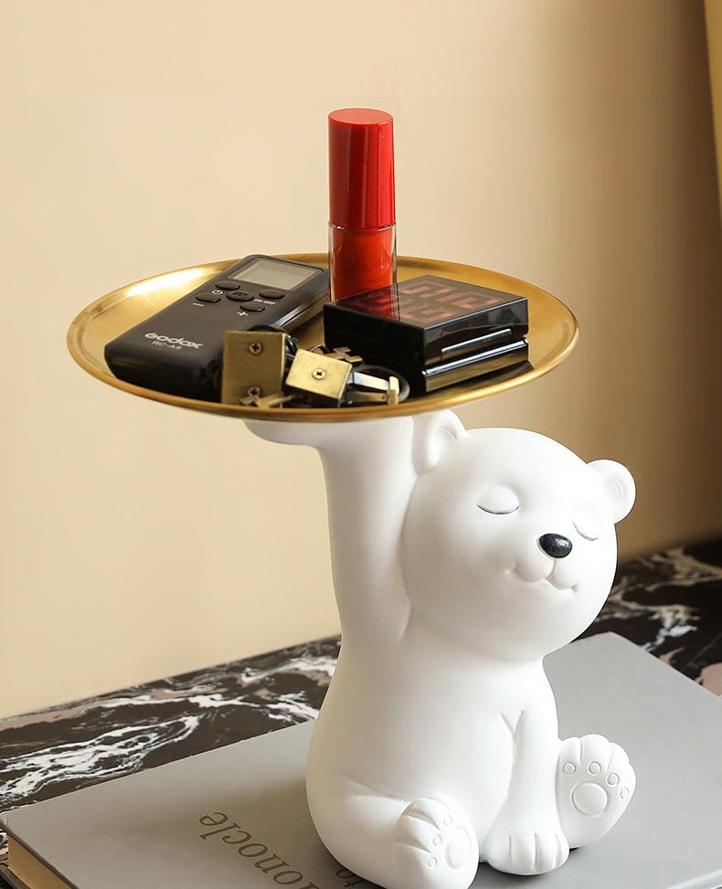 在鞋櫃面放置一些小裝飾和擺件,亦能提升空間的質感