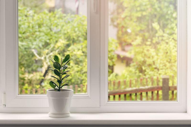 只得幾吋闊的窗台可以加以利用,擺放小型盆栽,將它變成睡房中的小花園,讓室內空間變得充滿生氣,也為眼睛提供了舒緩的綠景