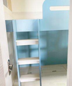 上格床的圍欄及爬梯都是容易碰撞的地方,為減少小孩受傷的機會,大圓角設計是不可缺少的
