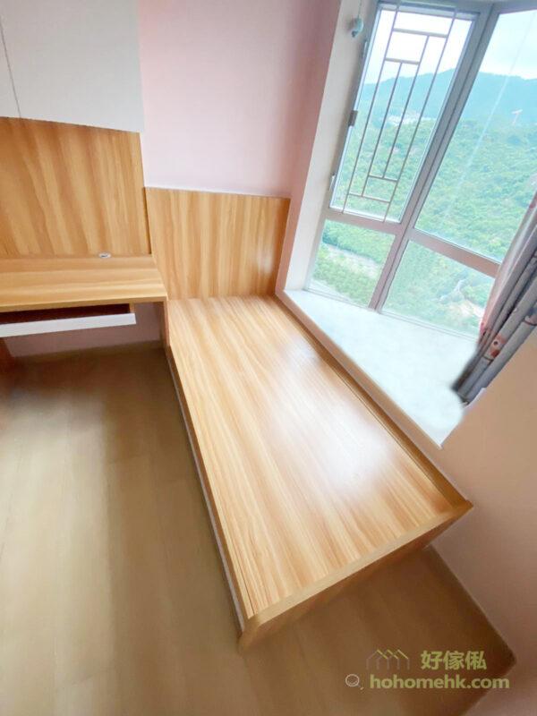 全房傢俬都選用E1級別的細芯實木夾板,超低甲醛含量,也不會有難聞的氣味,安裝後立即入住使用都不會影響健康