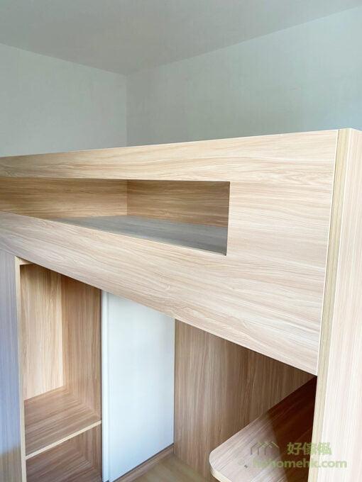高架床/碌架床/上床下衣櫃設計