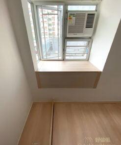 良好的採光和照明配置,能使空間產生更寬敞的感受,宜選擇較輕質的材料充分引進自然光