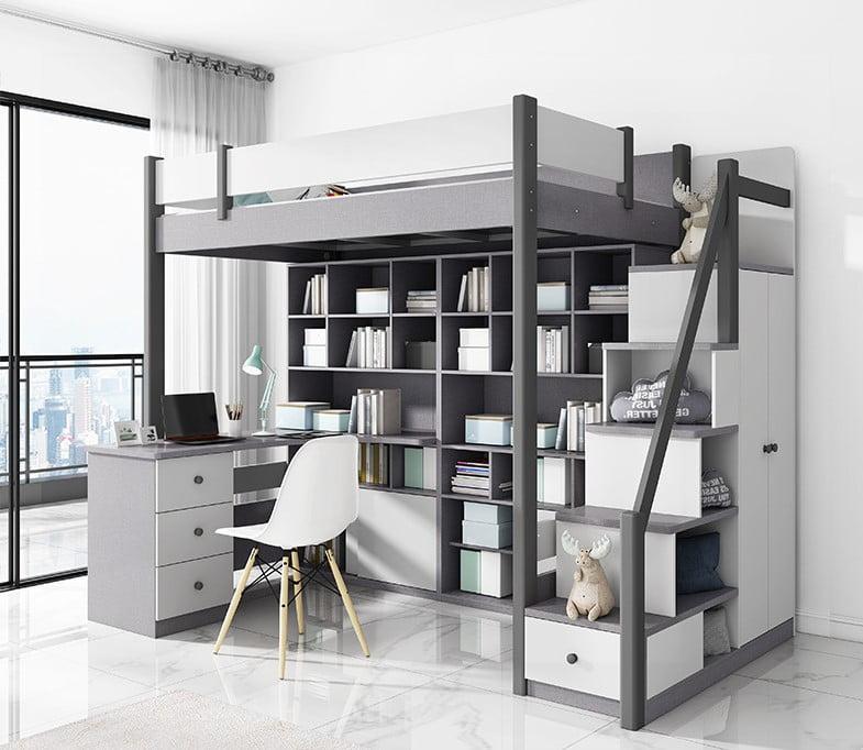樓梯櫃的格櫃間隔完全可按按個人習慣而自由訂製,更配合家居的儲物與展示的需要