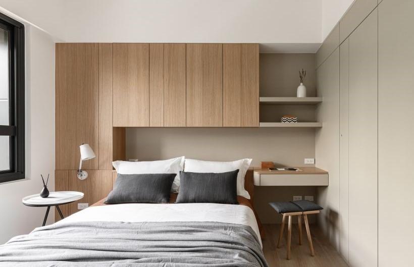 原木色是裝修時最不會出錯的顏色,乾凈清爽、簡單純粹,不張揚也不會顯得無趣,溫柔又治癒,日式和簡約北歐風格的家居都適合使用