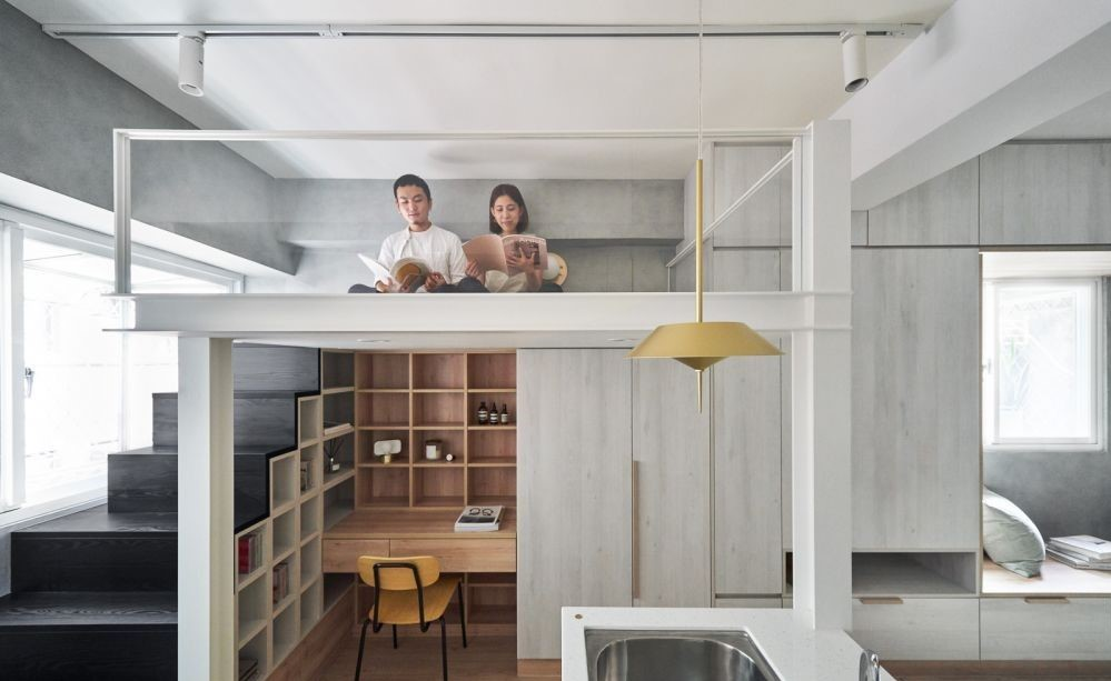 閣樓可以變成窗邊的閱讀區、像樹屋的小閣樓、也可搭配影音設備將閣樓打造成私人電影院,為自己圈出一個放鬆心情的幸福小角落