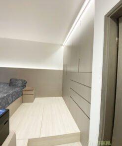 原木色、白色和淺木色是最溫馨又舒適的色調,能夠讓睡房更加舒服