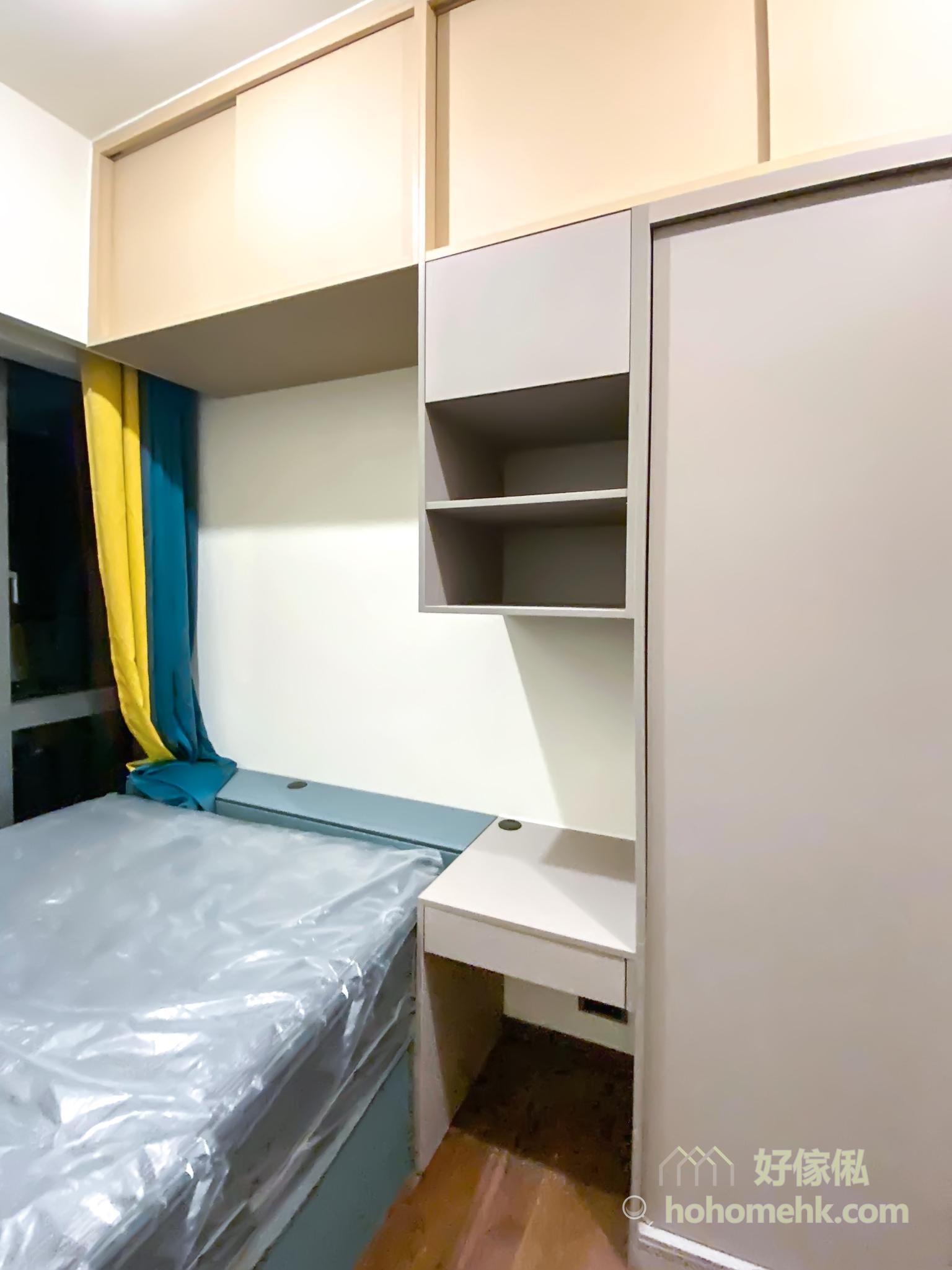 床太大或太小都會影響空間的美觀及實用性,床與睡房的理想比例是1/3,盡量不要超過一半最為恰當,可以此標準選擇出最適合家中睡房的床鋪尺寸